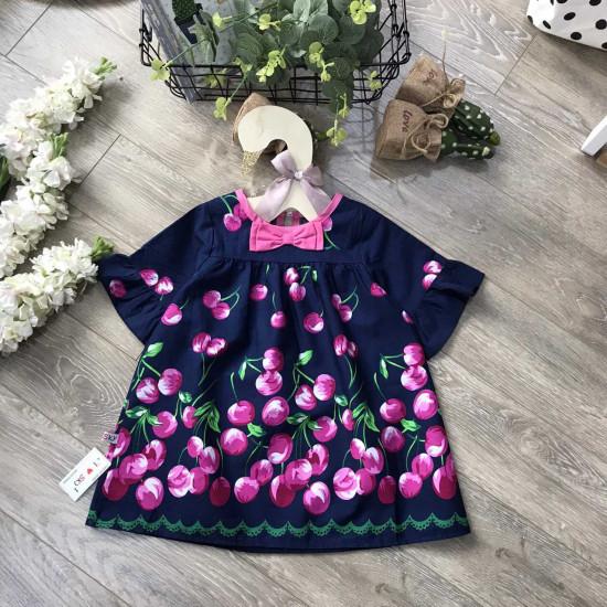 Áo váy chân nơ tay lỡ -AV78275-