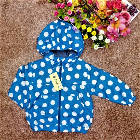 áo khoác chấm bi bé gái - A97135