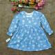 Váy thu cổ tròn - V97265-VÁY THU ĐÔNG BÉ GÁI