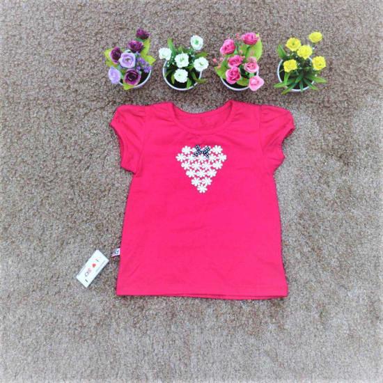 Áo cotton hoa chùm - A2725-ÁO XUÂN HÈ BÉ GÁI
