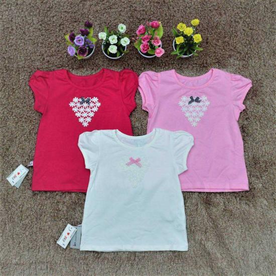 Áo cotton hoa chùm - A2725