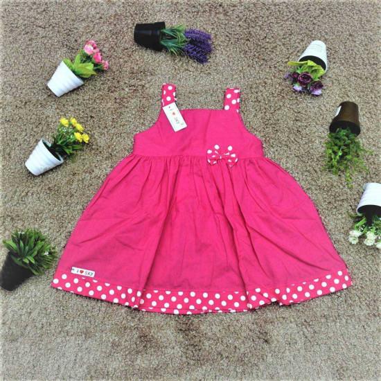 Váy 2 dây xòe bé gái