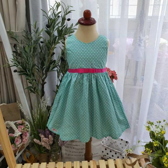 váy SN chấm bi - V2785-VÁY XUÂN HÈ BÉ GÁI