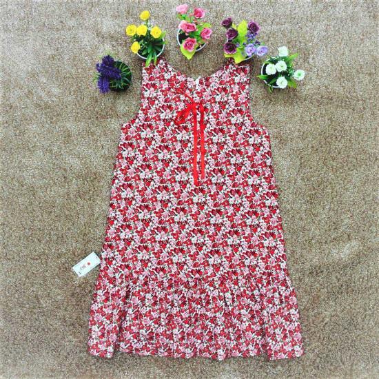 Váy hoa nhí đuôi cá đại-VÁY XUÂN HÈ BÉ GÁI