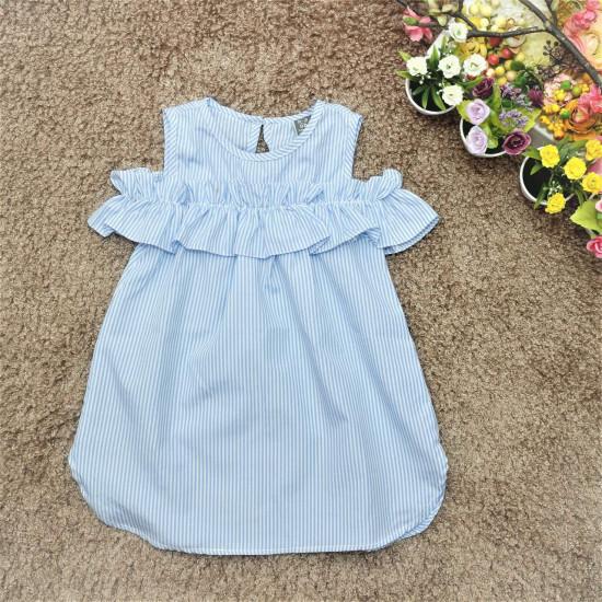 Váy kẻ đại bé gái –V7735