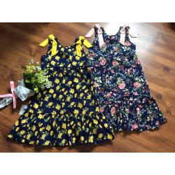 váy thô hoa nơ vai đuôi cá size 7 -10