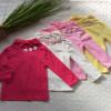 áo cổ lọ điệu 3 hoa bé gái-