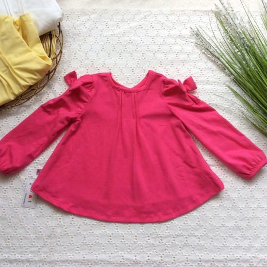 Áo thun cotton thu dài tay