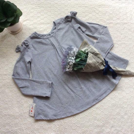 Áo thu cotton ly cổ size đại