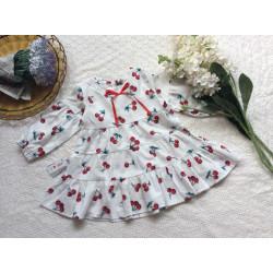 Váy dún ngực 3 tầng đuôi cá thu đông