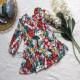 Váy hoa đuôi cá dài tay