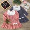 váy thu hoa đuôi cá trẻ em size 4-8-