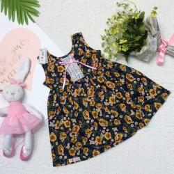 váy hoa bé gái ren ngực- vsn29205