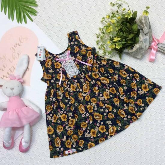 váy hoa bé gái ren ngực- vsn29205-