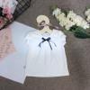 áo cotton ren ngực - A3965-