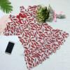 váy đũi hoa size đại - v39134-