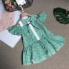 váy đuôi cá ren ngực size 4-8 - v39155-