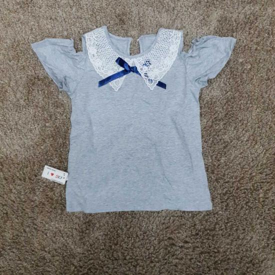 Áo cotton cổ ren trễ vai size đại 7 -10 - A4934