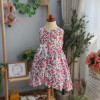 Váy hoa boil vạt chéo size 2-6 - V20195-