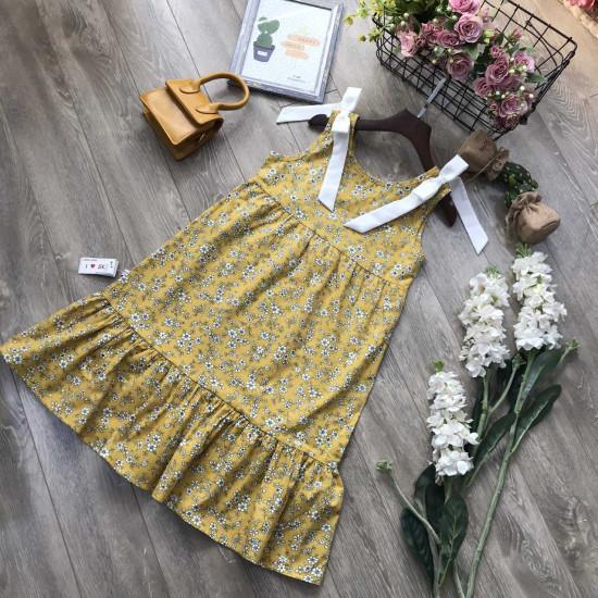 Váy đuôi cá hoa nhí size đại 7 -10