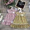 Váy hoa 2 tầng ren đuôi cá-