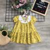 Váy hoa cổ nơ bé gái xuân hè - AV20205-