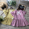 Váy hoa đuôi cá tay loe size 4-8  -- vc20285-