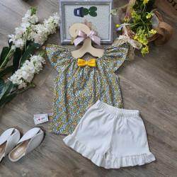 Bộ hoa tay tiên bé gái xuân hè - b50115