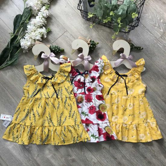 Váy boi hoa tay tiên xuân hè-VÁY XUÂN HÈ BÉ GÁI