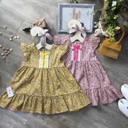 váy đuôi cá 2  tầng ren ngực size 2-6  - vt2095-1