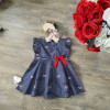 Váy hoa thô lụa size 2-6 - v50275-