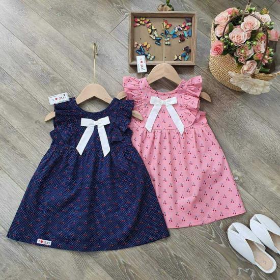 Váy tay tiên size 2-6-VÁY XUÂN HÈ BÉ GÁI