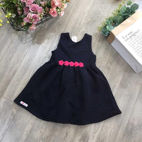 Váy xòe thắt eo - v1784-VÁY THU ĐÔNG BÉ GÁI