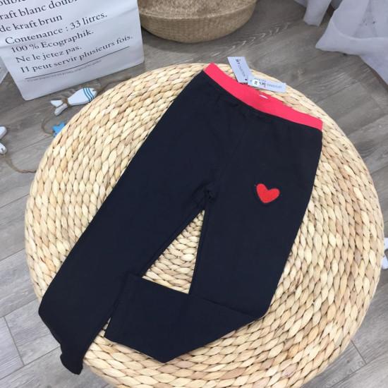 quần cotton tim size nhí-LEGGING THU ĐÔNG
