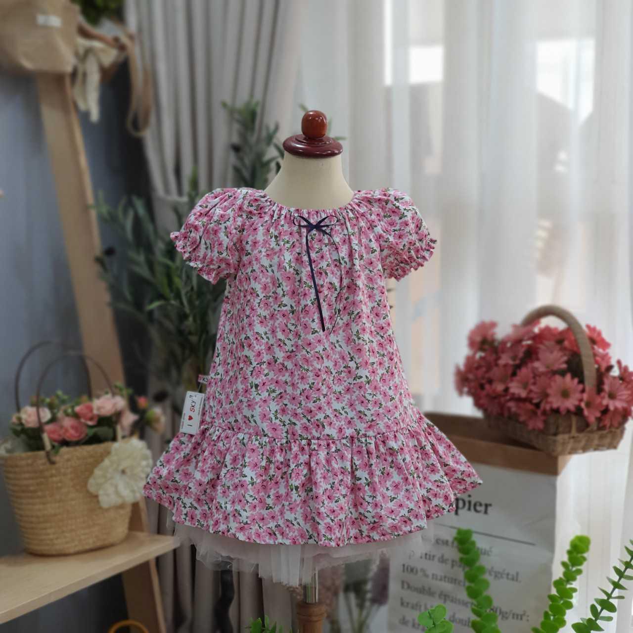 váy đuôi cá baby doll